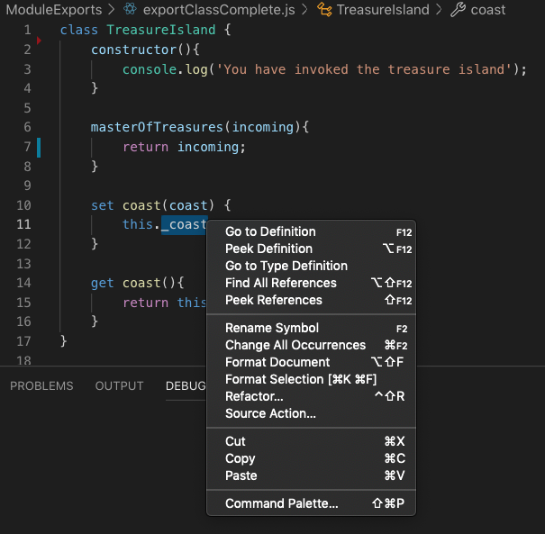 VS Code Enabling Javascript nodejs intellisense